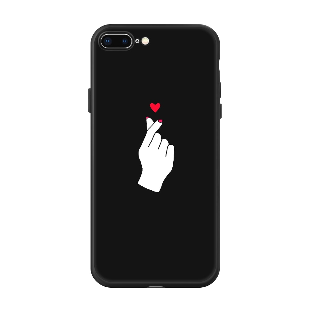 Black Silicone Phone Case for iPhone