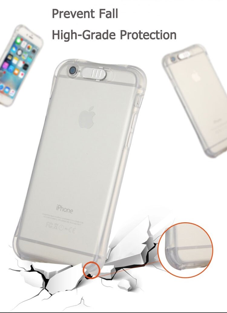 LED Transparent Luminous TPU Case for iPhone